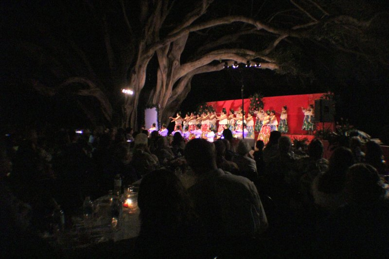 Moana's Hula Halau Dinner and Show 2014