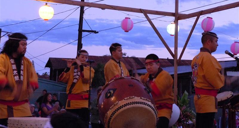 Somei Taiko. Photo by Catherine Cluett
