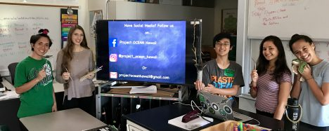 Student Tackles Ocean Pollution