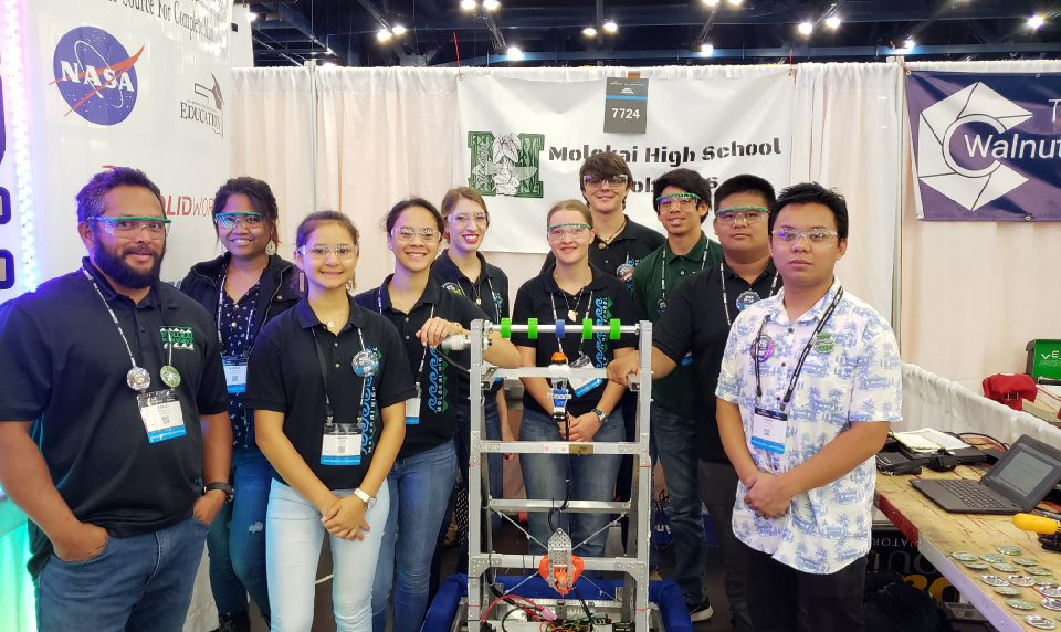 'Miracle' Takes MHS Robotics to Worlds