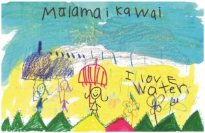 Third place winner, Kindergarten, Carly Dudoit, Kualapu`u School.