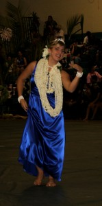 Molokai High School May Day queen. Photo by Leslie Hibner