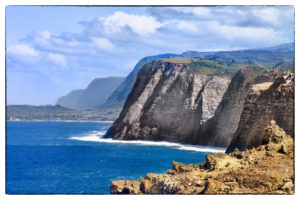 Cliffs of Kalaupapa by Zach Socher