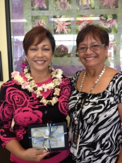 Suzette Kahana and Haunani Kamakana photo