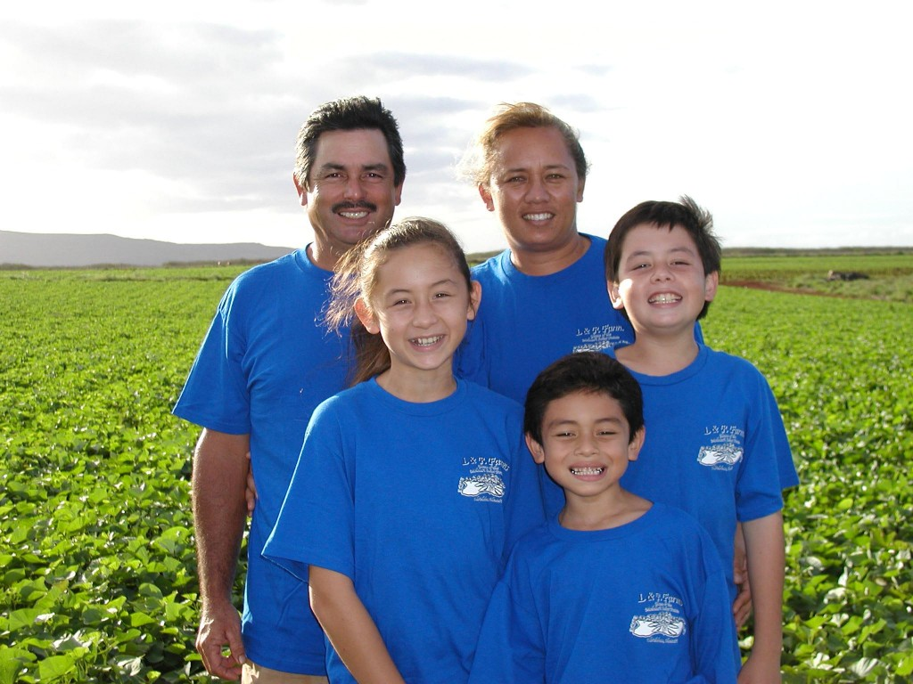 L & R Farm's Lynn & Russell DeCoite will be representing Molokai at this year's Maui County Agricultural Festival.