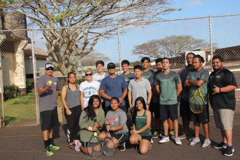 Home Wins for Boys Tennis