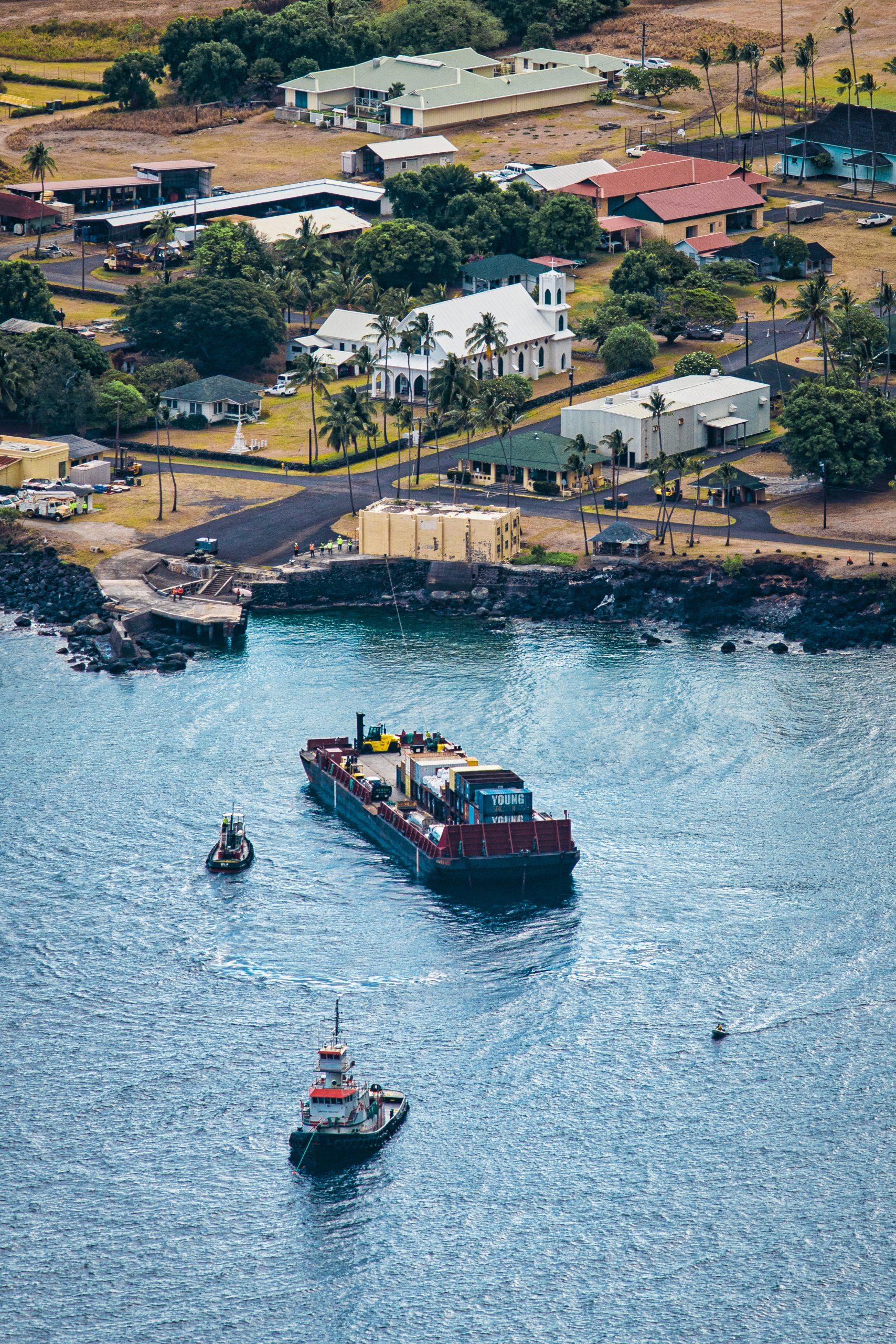 Kalaupapa's Annual Barge