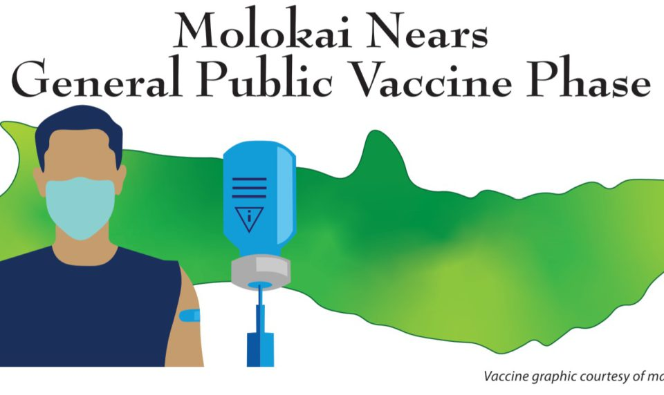 Molokai Nears General Public Vaccine Phase