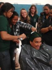 Scoring Green Hair