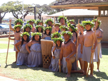 Halau Kukunaokala. Photo by Catherine Cluett