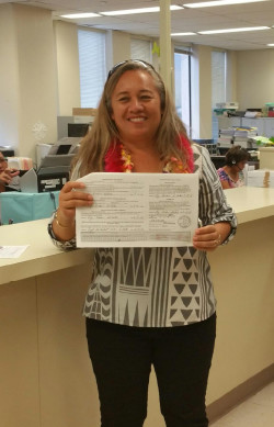 Rep. DeCoite Files Election Papers