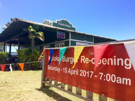 Molokai Burger Reopens After Fire