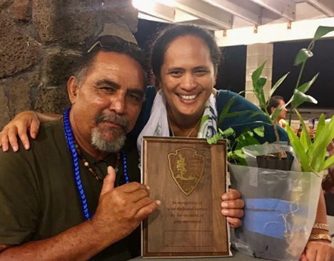 David Ainoa Jr. Retires from National Park Service