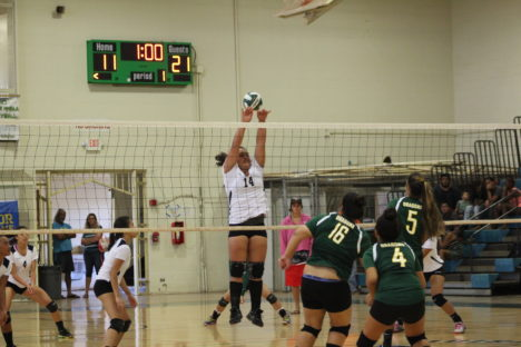 Hana Bests Molokai in Girls Volleyball