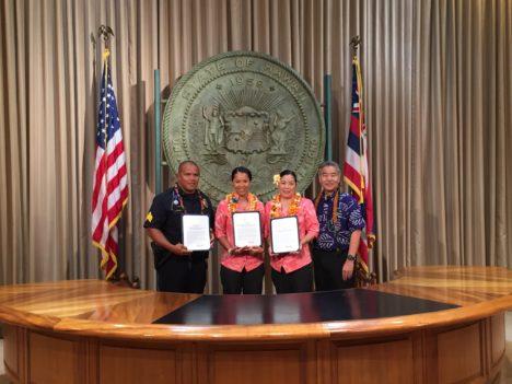 Molokai Police Officer Awarded