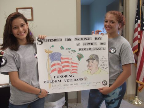 AmeriCorps Youth Honor Veterans