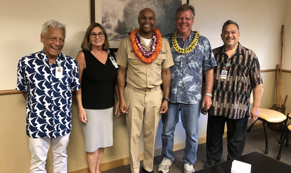 U.S. Surgeon General Comes to Visit