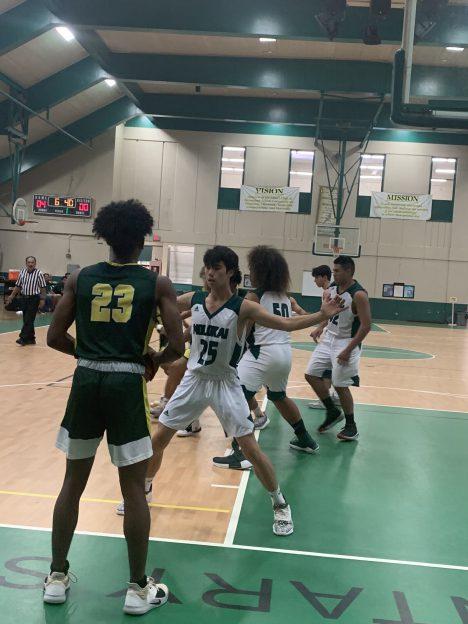 Boys Basketball Loses 2 on Lana'i