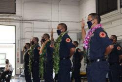 4 Molokai Residents Join Fire Dept.