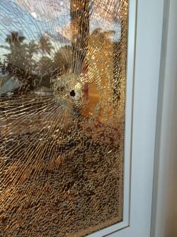 Bullet Shot Through Molokai Home