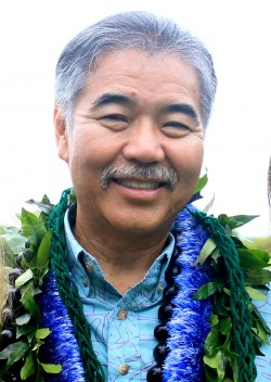 Ige Visits Molokai on Campaign for Governor