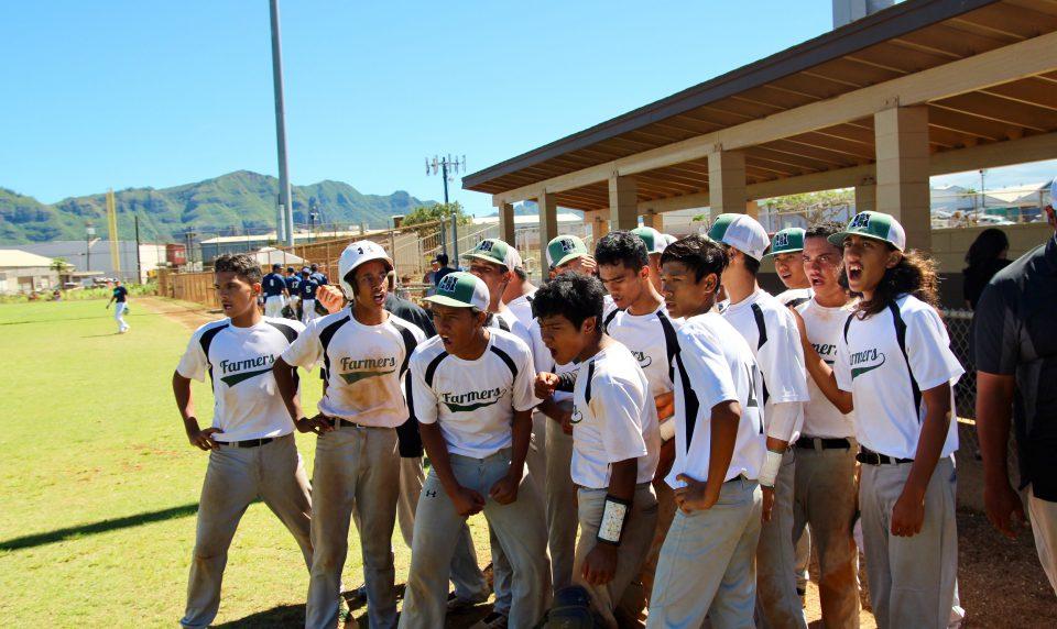 Baseball Shows 'Heart' at States