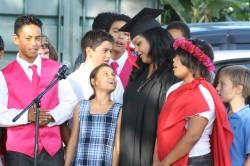 Aka`ula Sings for Grad's Future