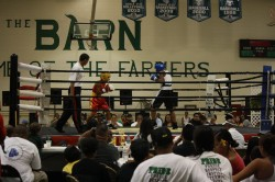 Boxing at the Barn