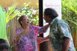 Council Members Visit Molokai