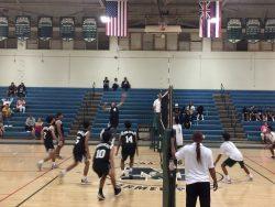 Boys Volleyball Wins Match