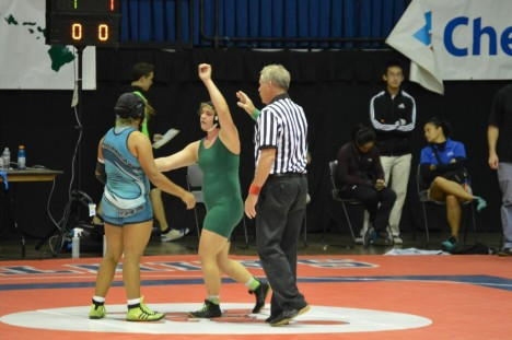 Manley Wins State Wrestling Title