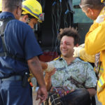 The Maui Fire Department treated Richards for minor injuries.