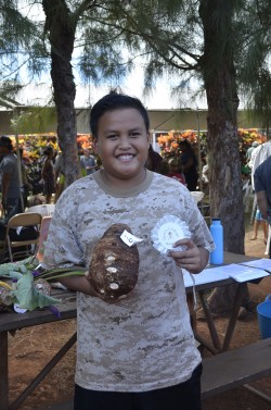 Molokai.  Kamaehu Kuoha, 3rd place, Queens Challenge 2015