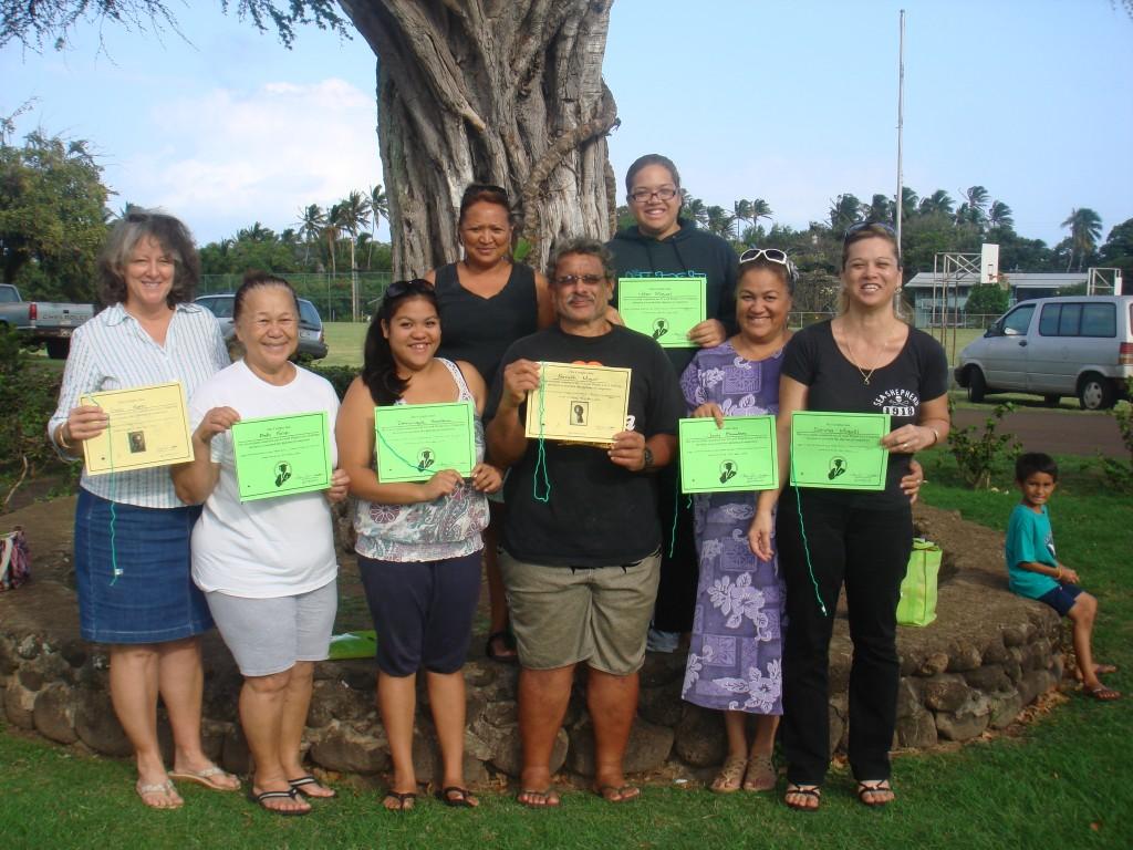 Participants from last season's Kilohana Weight Loss Challenge.