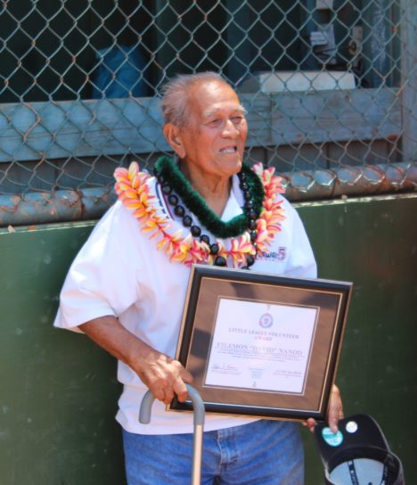 Little League Honors 'The Professor'