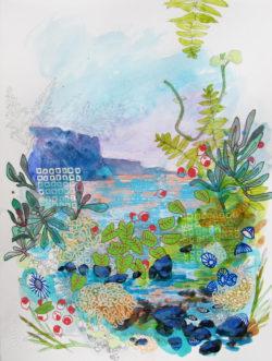 Molokai Inspired Art by MAC's Artist in Residence