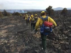 Kalaupapa Crews Fight CA Fires