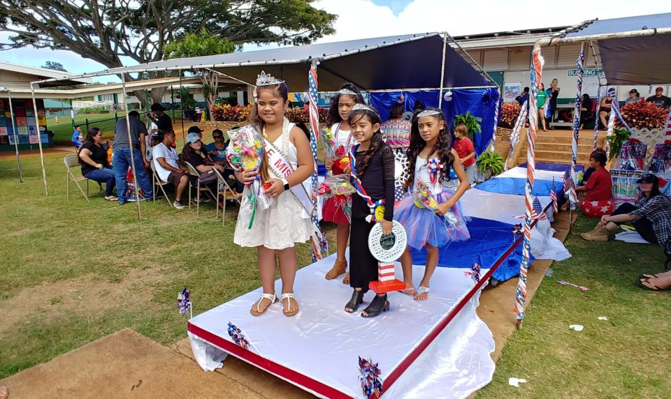 Kualapu'u School Ohana Fun Fair