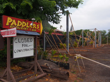 Closing Time for Paddlers Inn