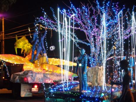 Kaunakakai's Winter Wonderland