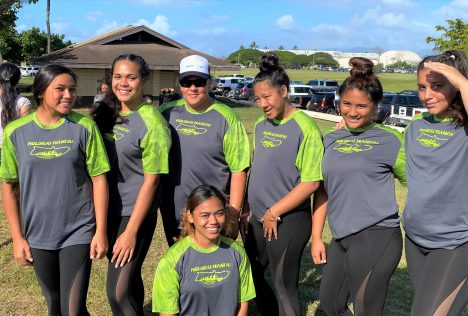 Molokai Paddlers Compete at States