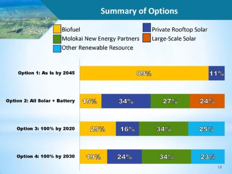 Choosing Molokai's Energy Future