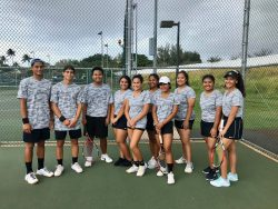 Tennis Played Into Night Before COVID Suspension
