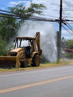 Water Main Break Causes Closures