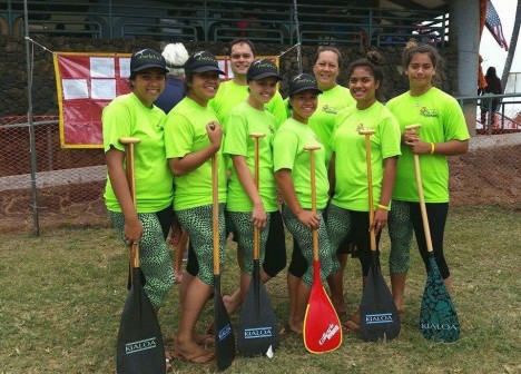 Lady Farmers Paddling 5th in State