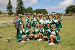 Cheerleaders Excel at Molokai High