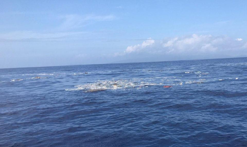 Marine Debris Field Dispersed