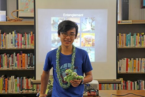 A Teen with a Vision: Project O.C.E.A.N Hawai'i