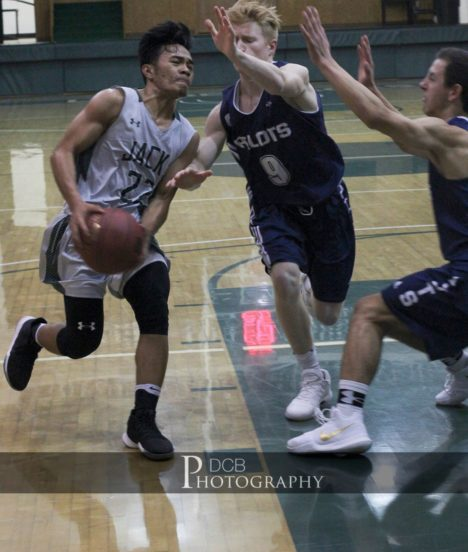 Alvarez Playing Basketball at Dakota College