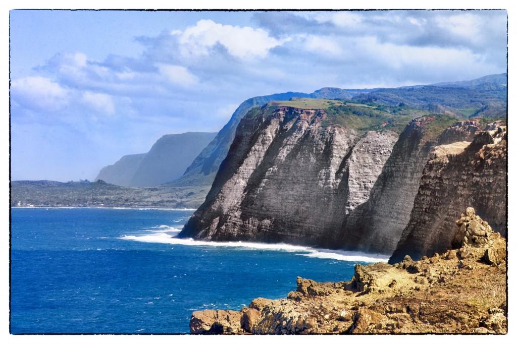 Cliffs of Kalaupapa by Zach Socher
